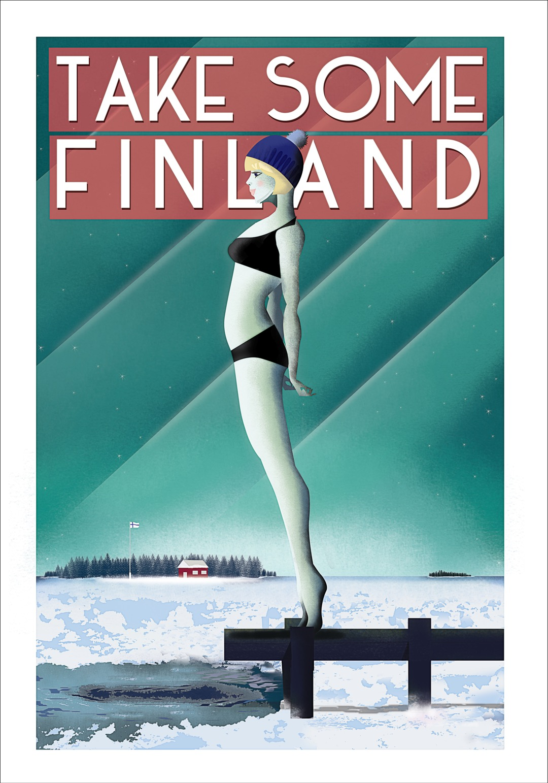 Take Some Finland. Artist: Omar Escalante.